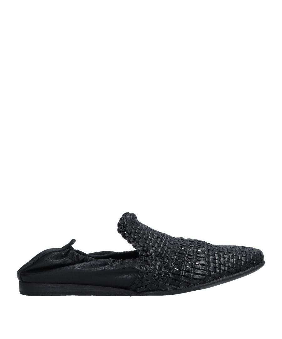 Image for Lemare Black Leather Loafers