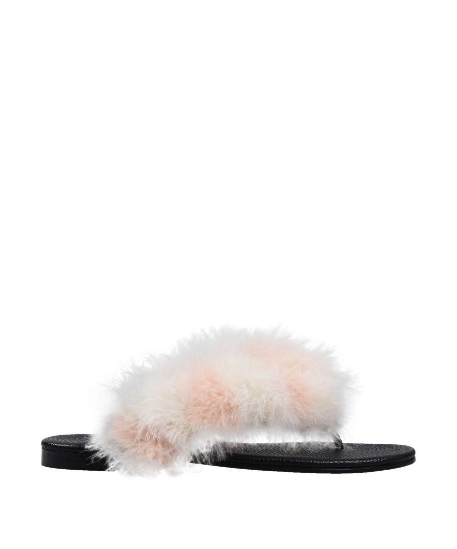 Image for Avec Moderation Ivory Marabou Sandals
