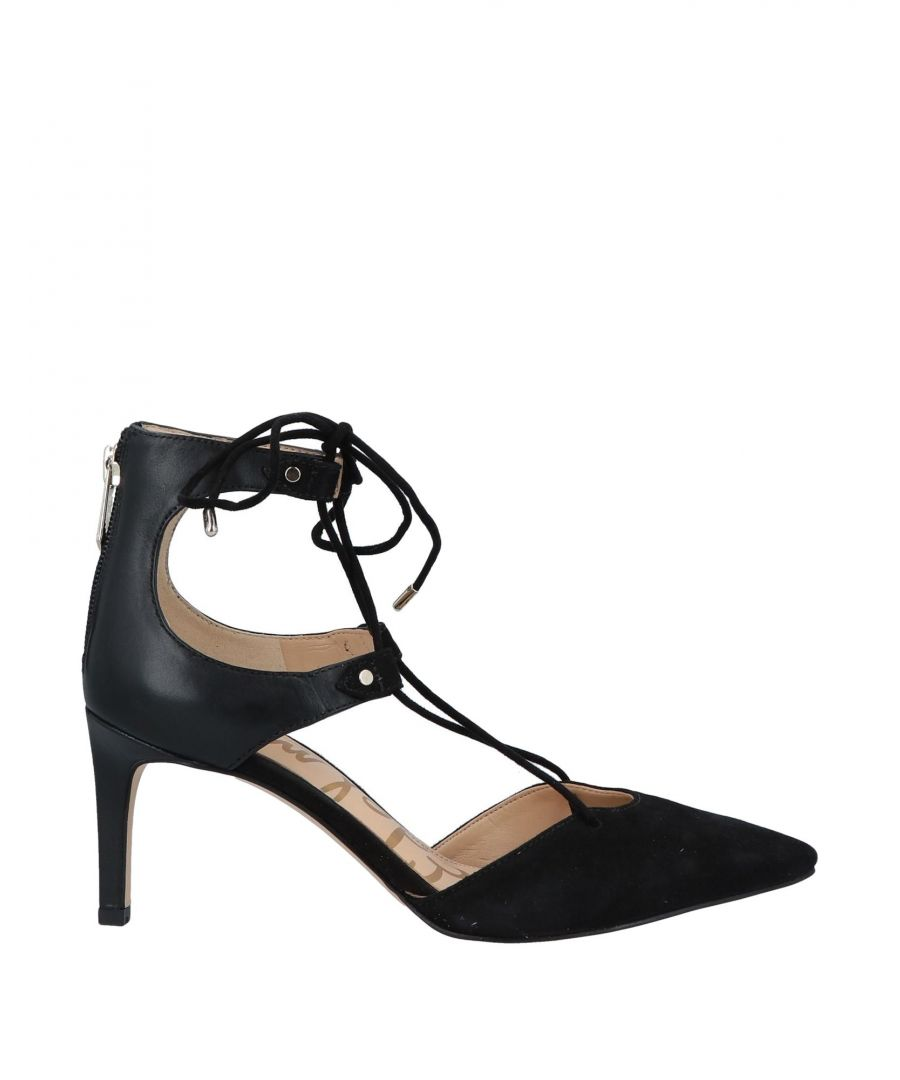 Image for Sam Edelman Woman Courts Black Leather