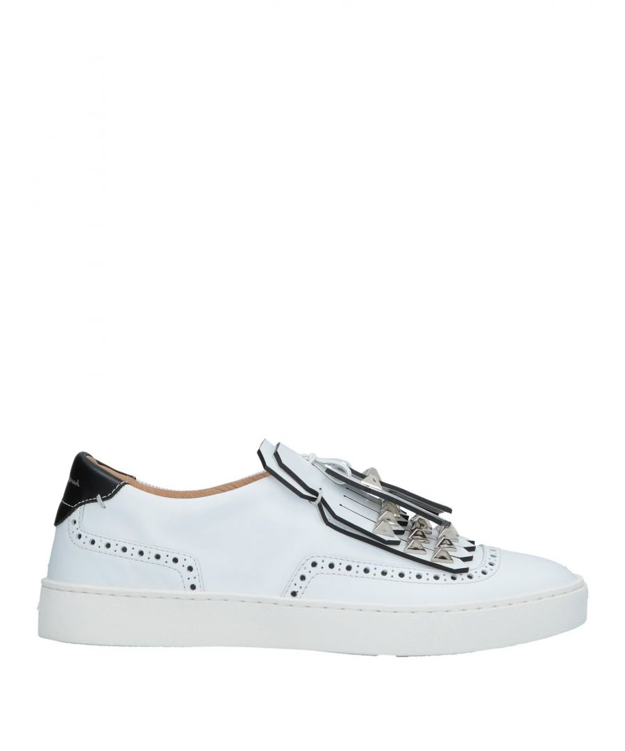 Image for Santoni Woman Low-tops & sneakers White Leather