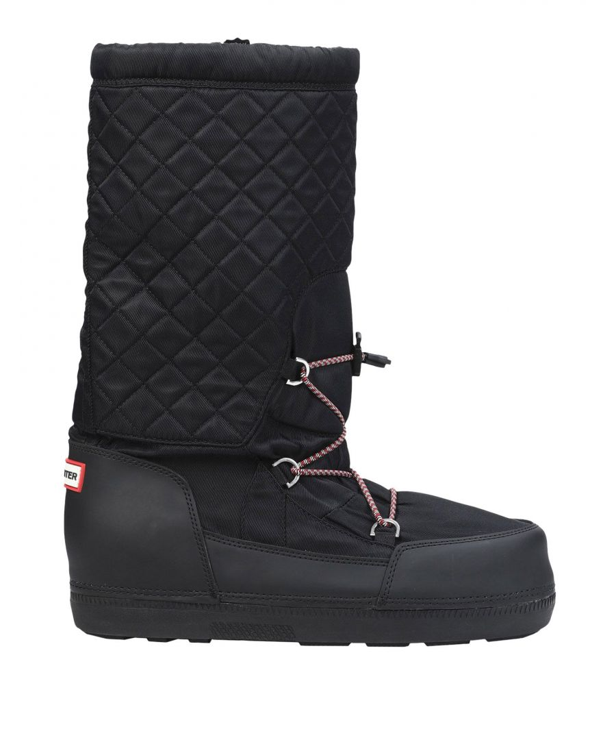 Image for Hunter Black Techno Fabric Boots