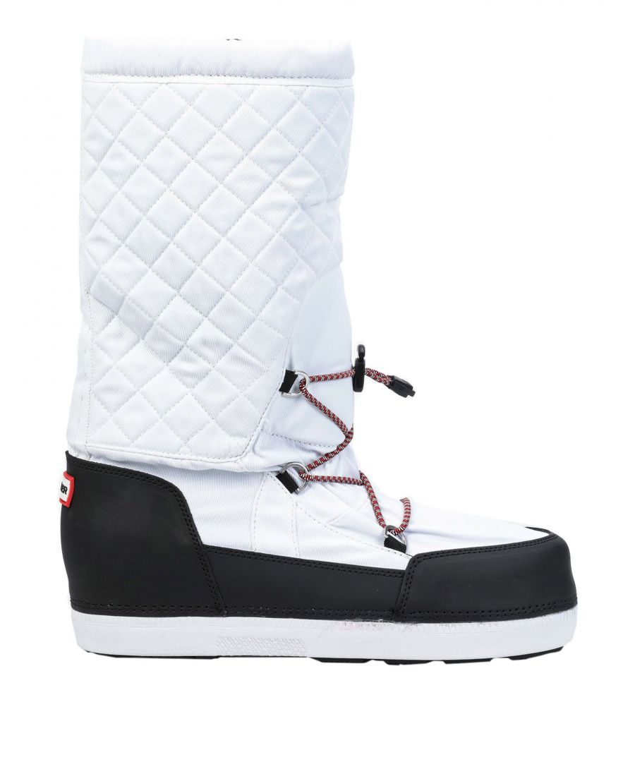 Image for Hunter White Techno Fabric Boots