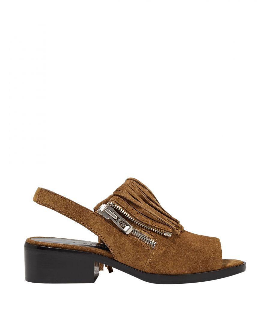 Image for 3.1 Phillip Lim Camel Leather Sandals