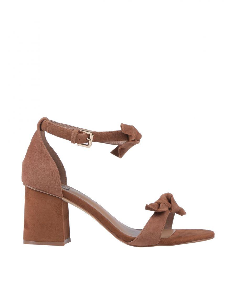 Image for Bibi Lou Camel Leather Heeled Sandals
