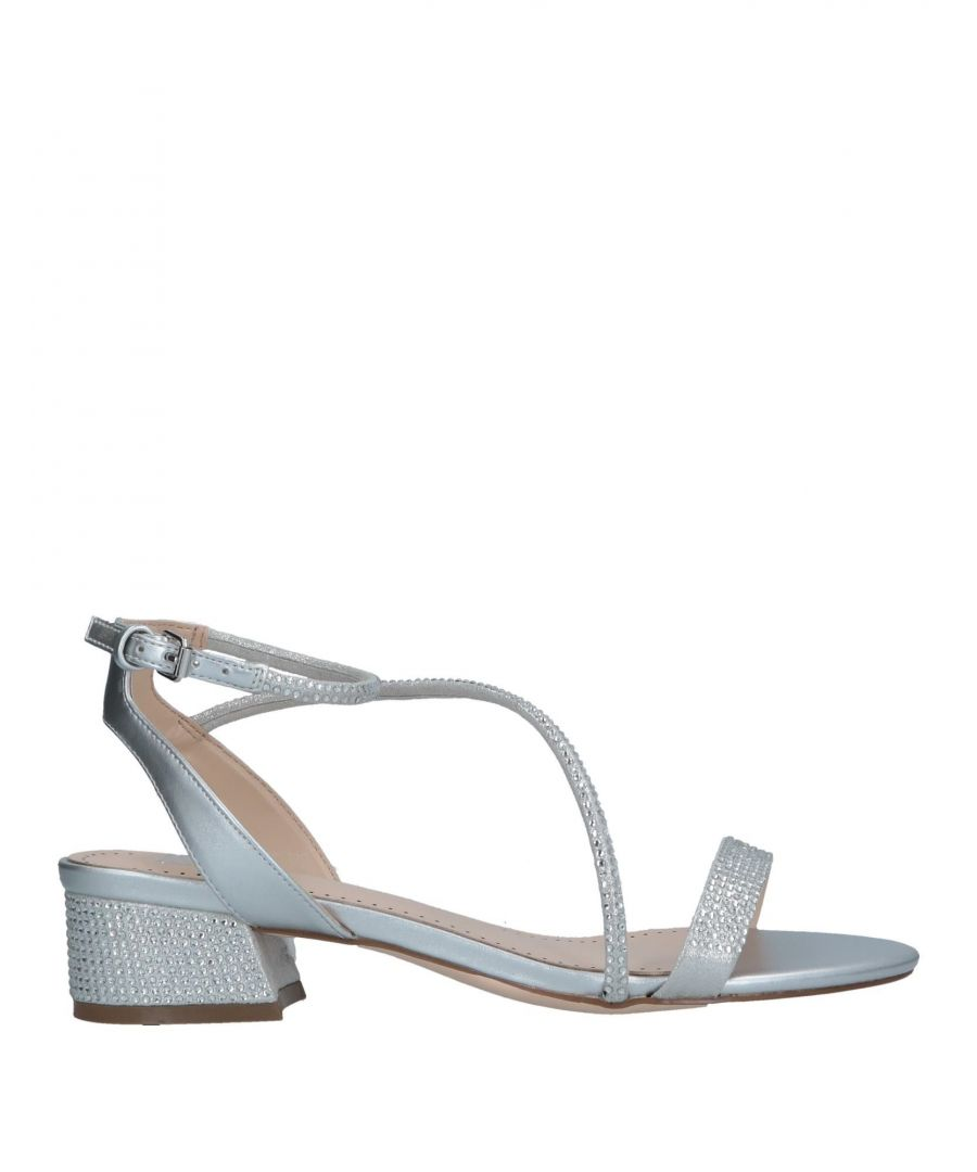 Image for Bibi Lou Silver Low Heel Sandals