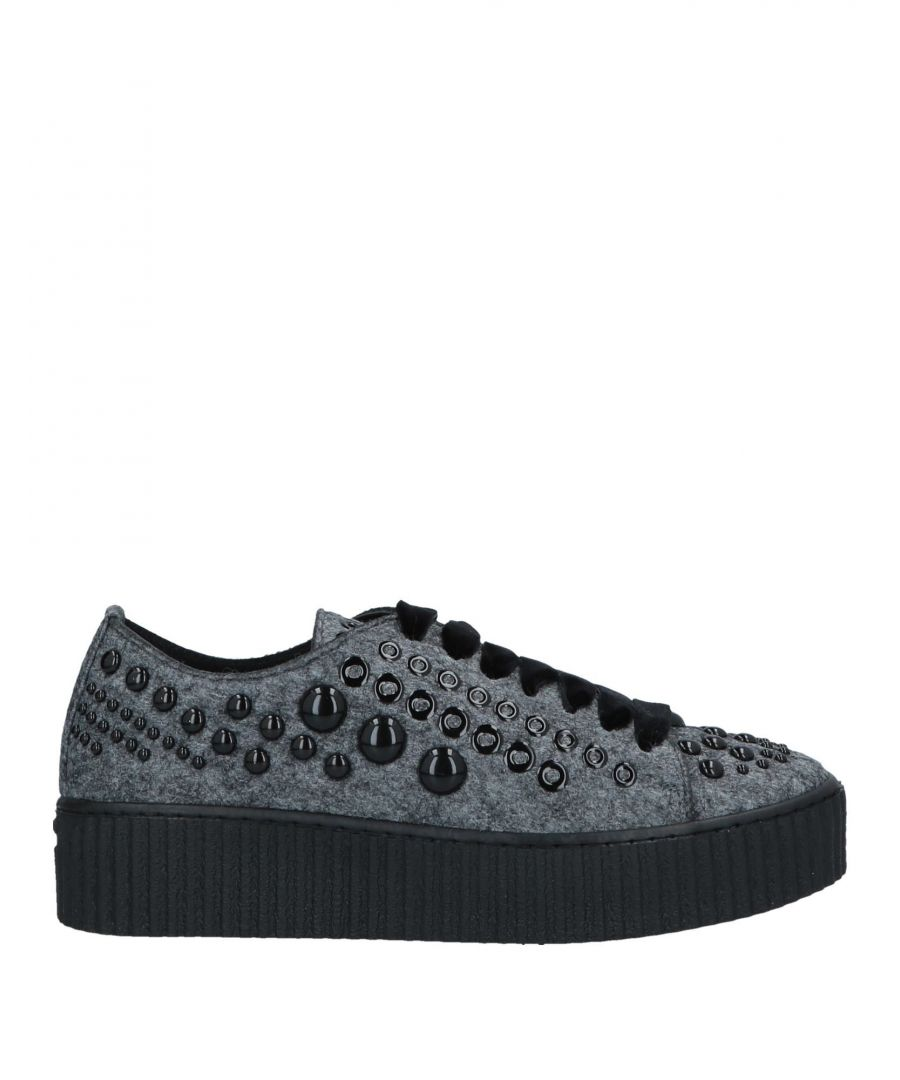 Image for Pinko Grey Studded Sneakers