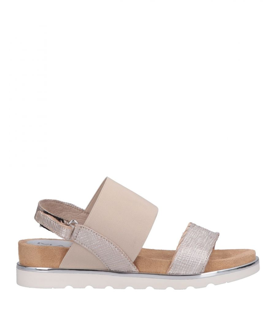 Image for Mally Silver Leather Sandals
