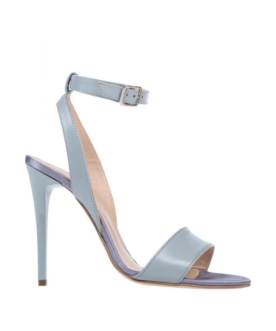 Image for Bruglia Woman Sandals Sky blue Leather