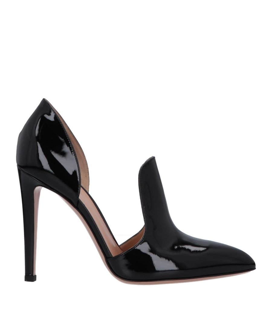 Image for Gianvito Rossi Black Patent Leather Heels