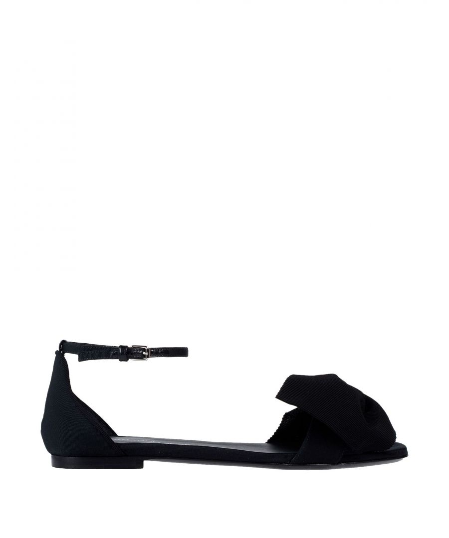 Image for Ermanno Scervino Black Bow Detail Flats