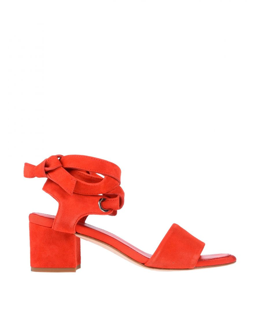 Image for Claudie Pierlot Red Leather Heels