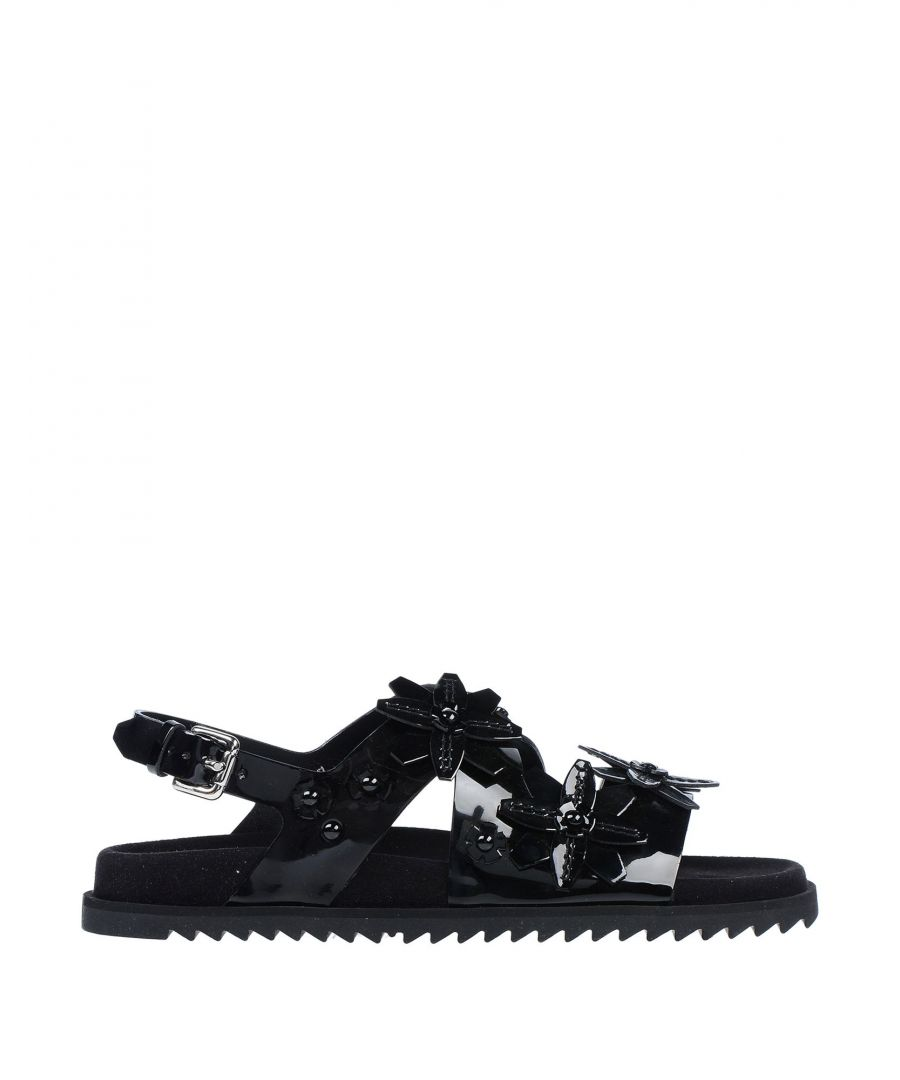 Image for Tod's Black Leather Sandals
