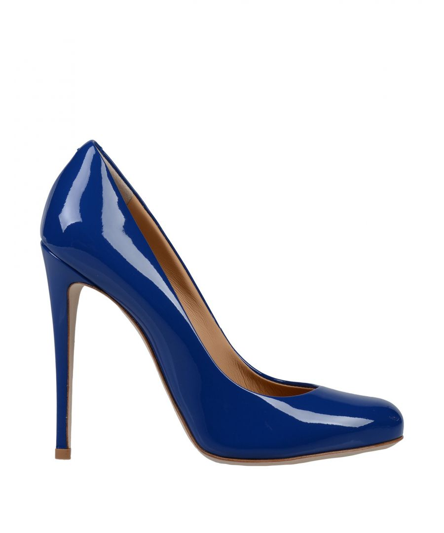 Image for Giuseppe Zanotti Woman Courts Blue Leather