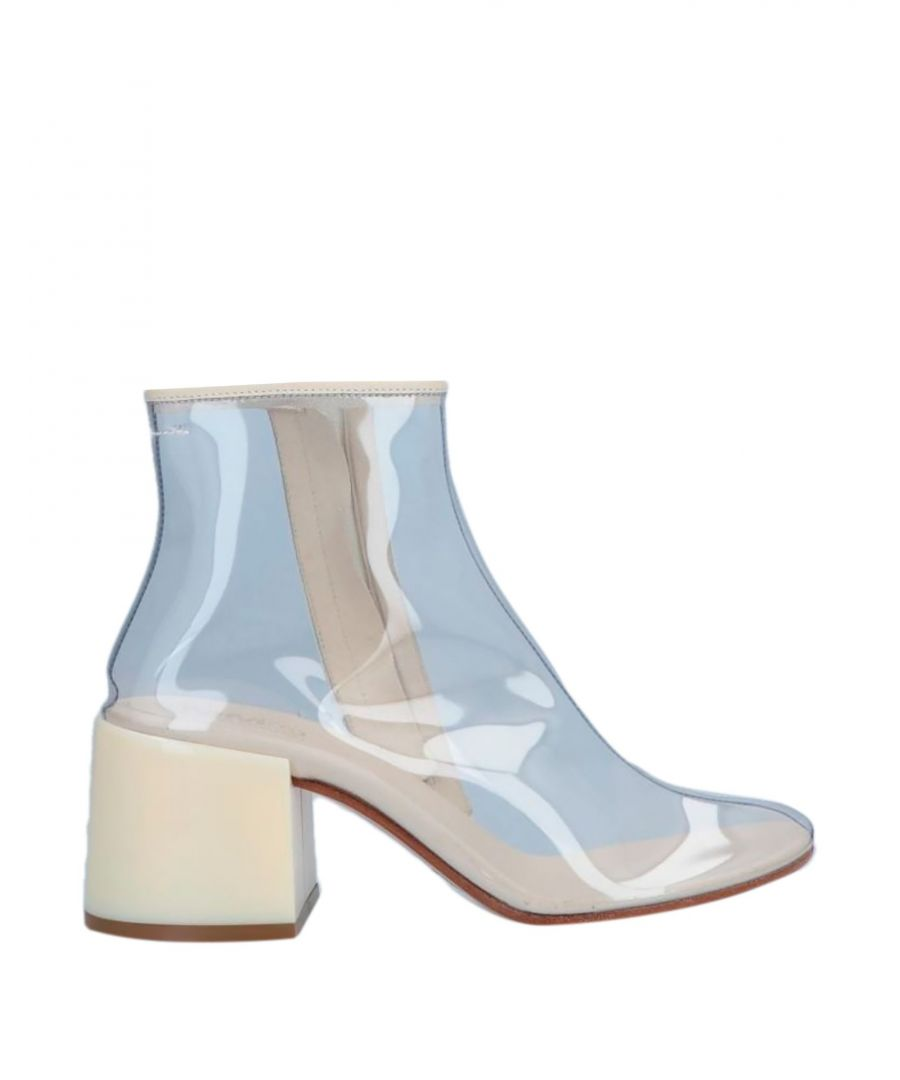 Image for MM6 Maison Margiela Transparent Ankle Boots