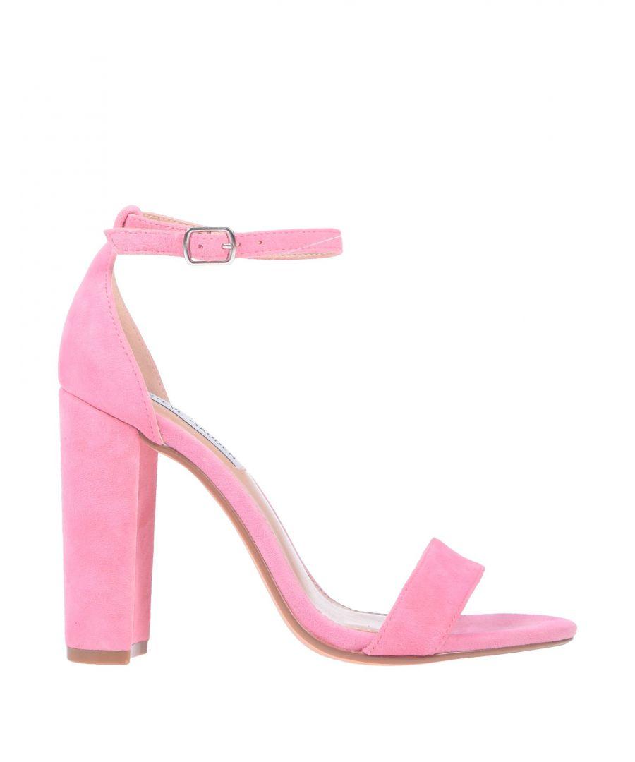 Image for Steve Madden Pink Leather Heeled Sandals