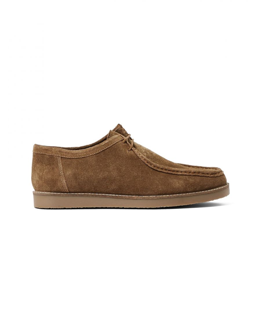 Image for Topman Brown Leather Lace Up Shoes