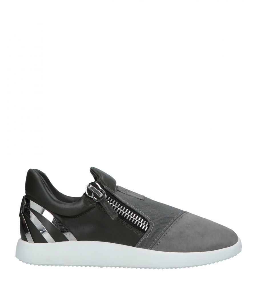 Image for Giuseppe Zanotti Woman Low-tops & sneakers Grey Leather
