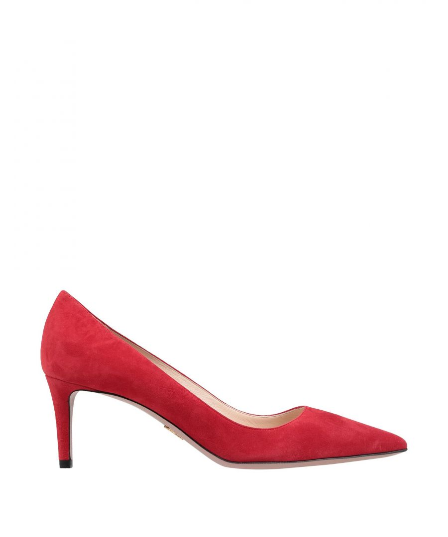 Image for Prada Woman Courts Red Leather