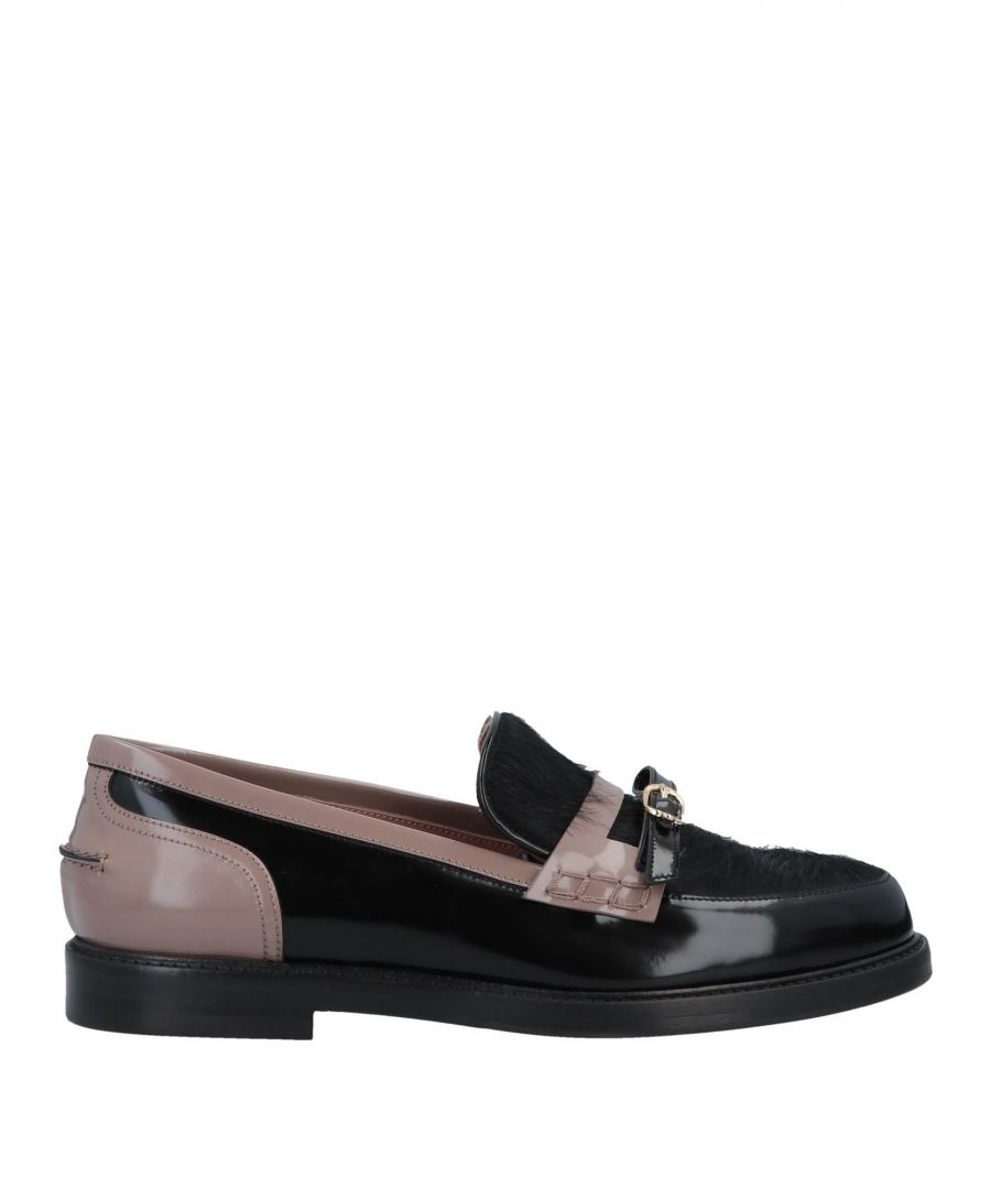 Image for L' Autre Chose Black Leather Loafers