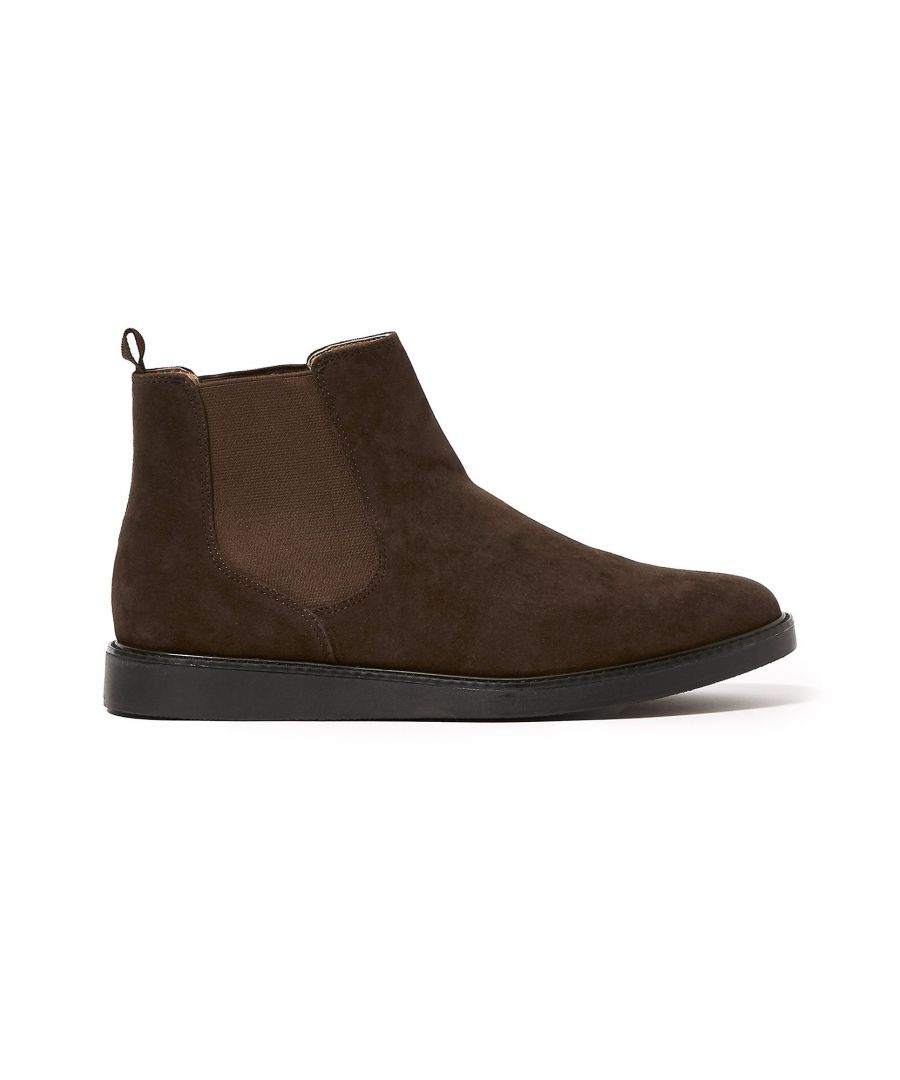 Image for Topman Cocoa Chelsea Boots