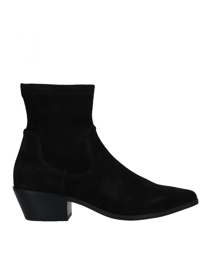 Image for Steve Madden Women's Ankle Boots Black Leather