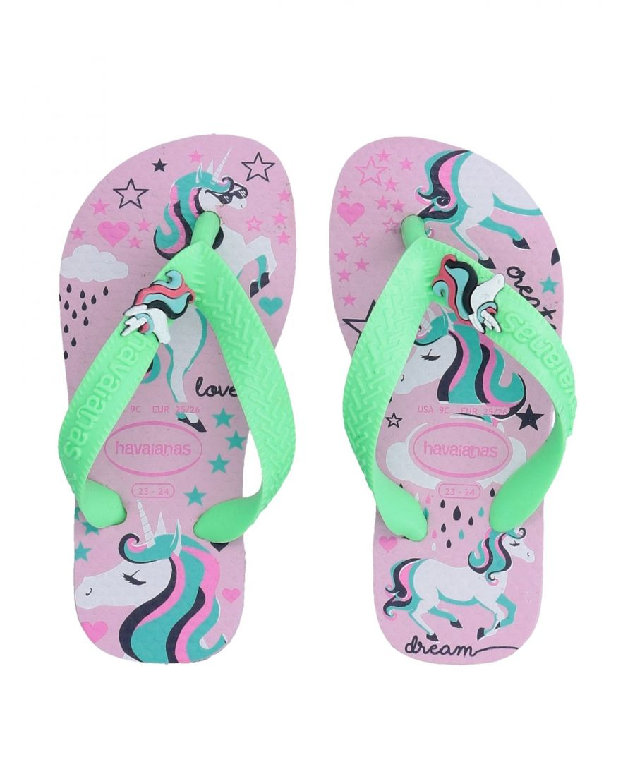 Image for FOOTWEAR Havaianas Light green Girl Other Fibres