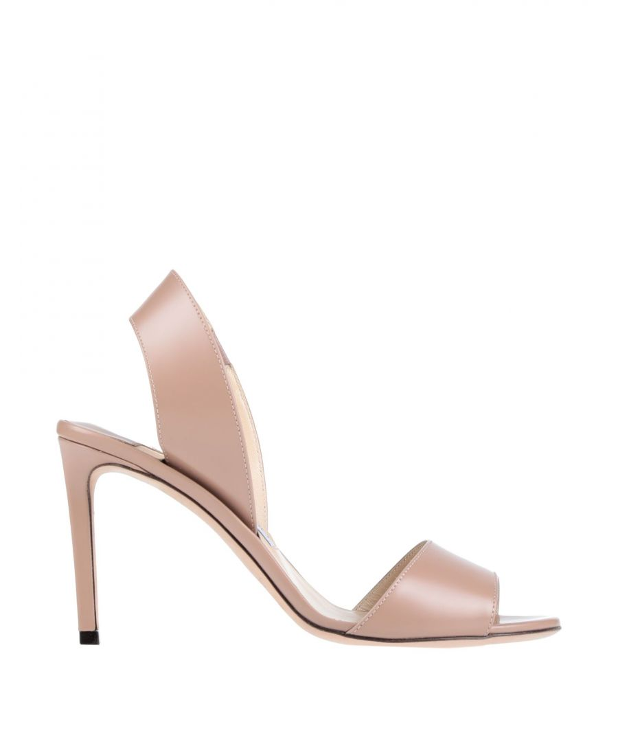 Image for Jimmy Choo Woman Sandals Pale pink Leather