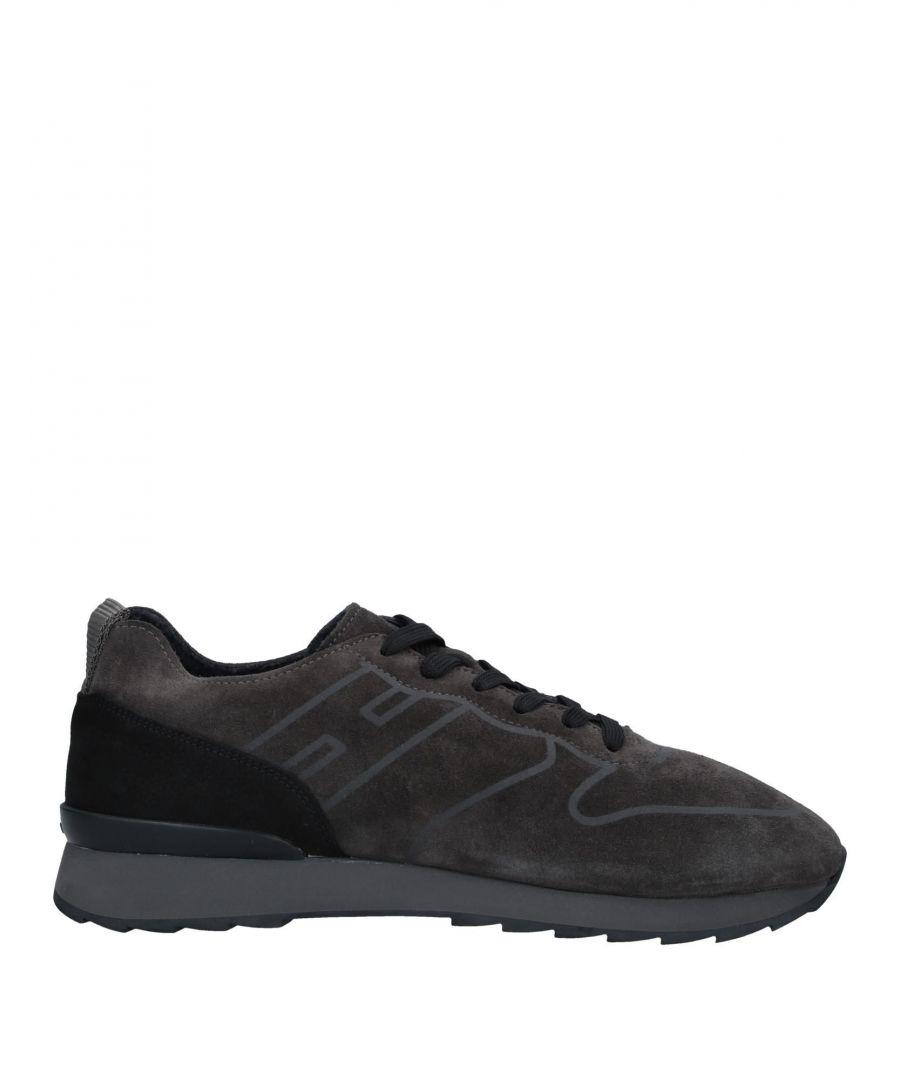 Image for Hogan Lead Leather Sneakers