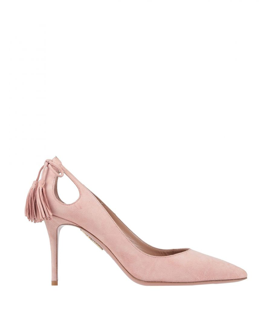 Image for Aquazzura Pink Leather Heels