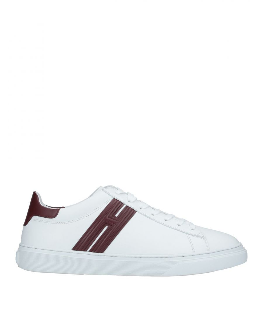 Image for Hogan White Leather Sneakers