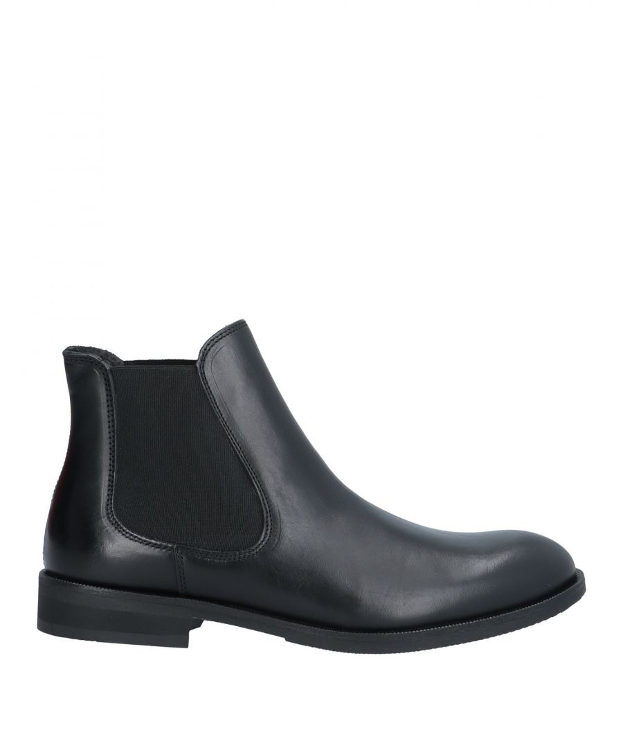 Image for Selected Homme Man Ankle boots Black Leather