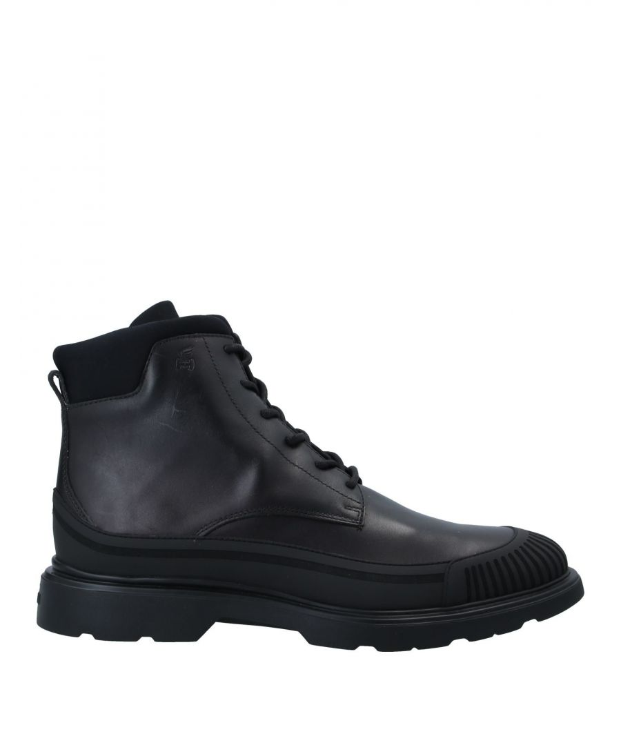 Image for Hogan Black Leather Boots