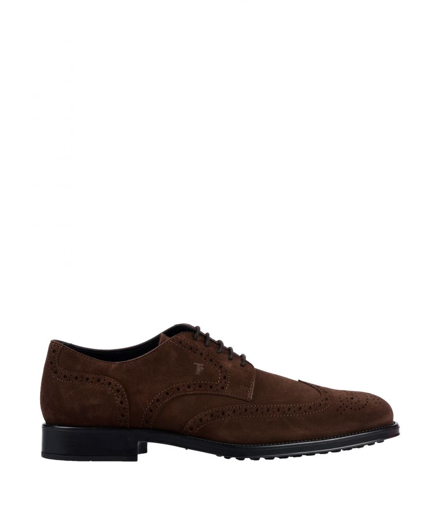 Image for Tod's Cocoa Leather Shoes