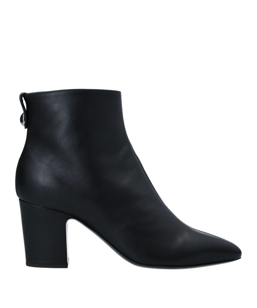 Image for Giuseppe Zanotti Woman Ankle boots Black Leather