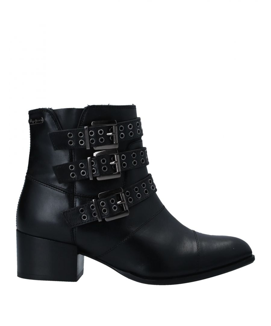 Image for FOOTWEAR Pepe Jeans Black Woman Leather