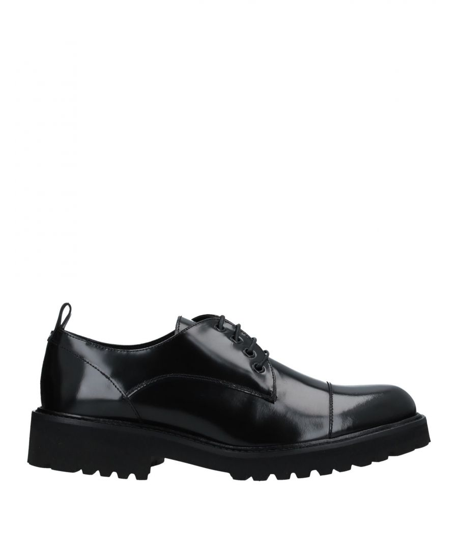 Image for John Richmond Black Polished Leather Lace Up Shoes