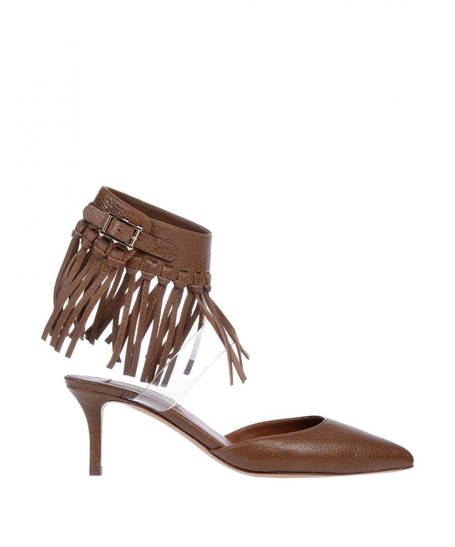 Image for Valentino Garavani Khaki Leather Heels
