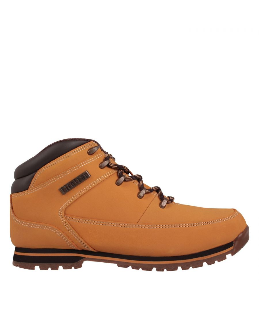 Image for Firetrap Rhino Mens Ankle Boots Casual Walking Shoes Grip Sole Lace Up Leather
