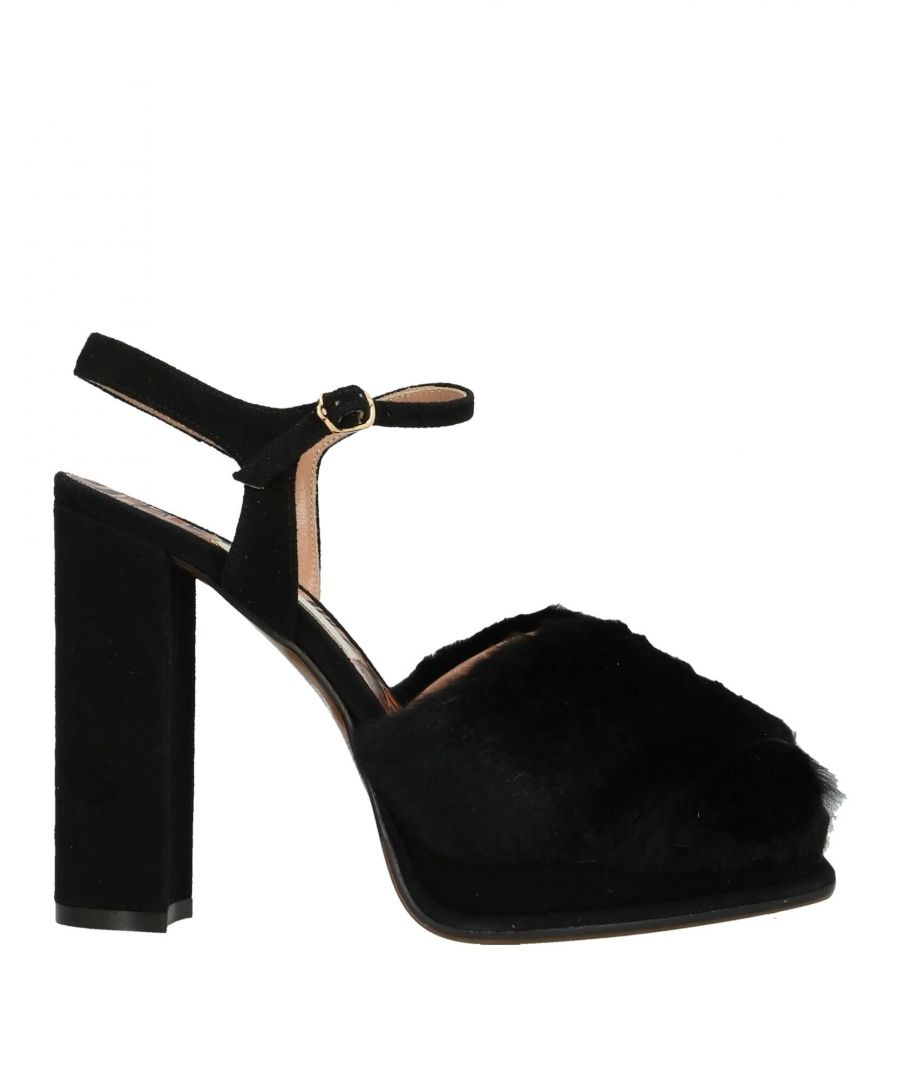 Image for FOOTWEAR L' Autre Chose Black Woman Rabbit fur