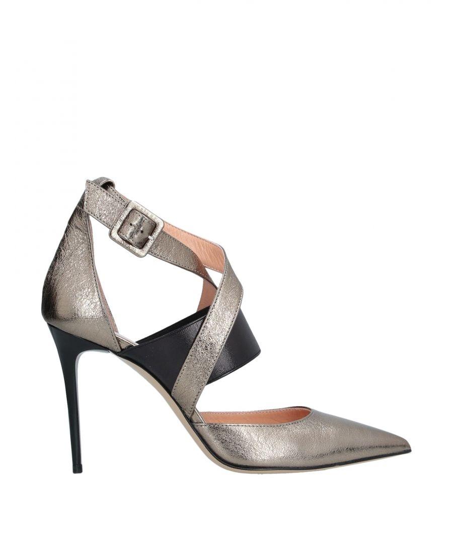 Image for Nenette Bronze Leather Heels