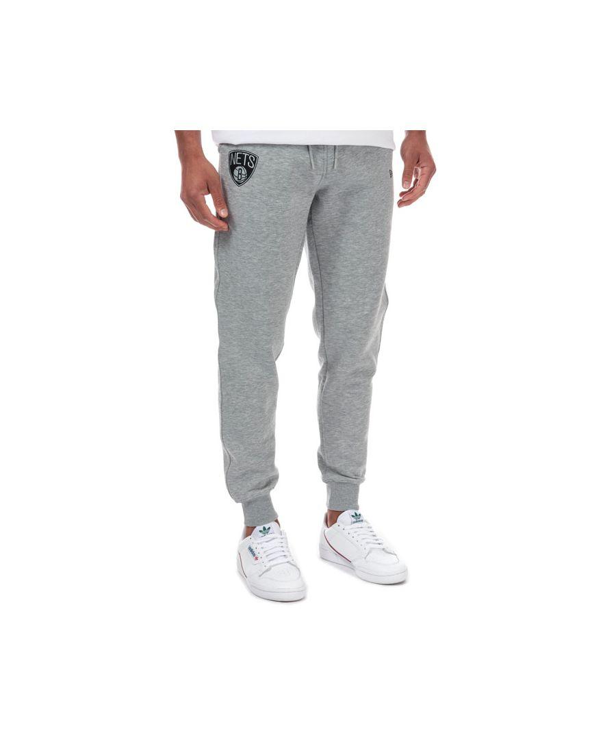 Image for Men's New Era Men Brooklyn Nets Jog Pants in Light Grey