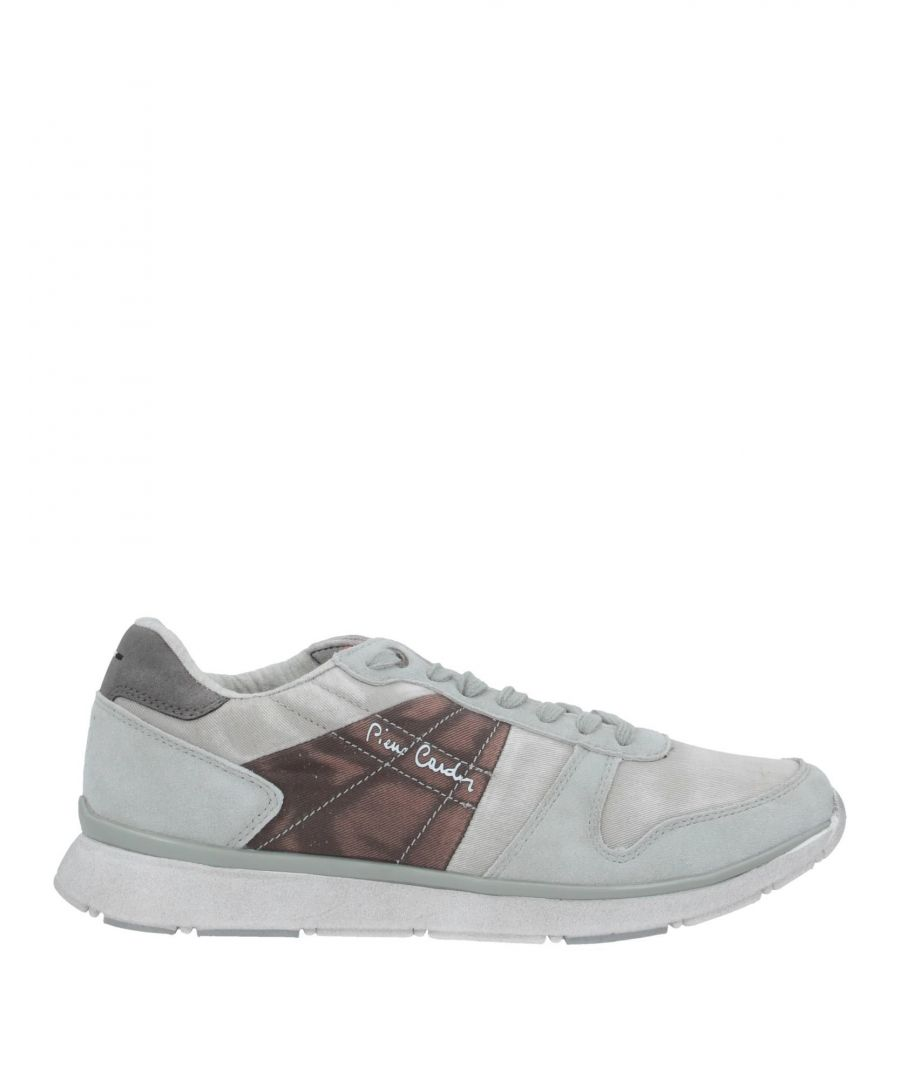 Image for Pierre Cardin Light Grey Leather Sneakers