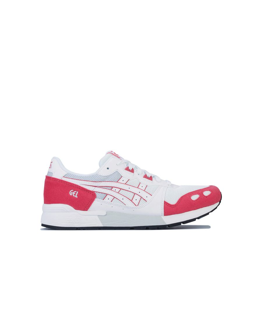 Image for Men's Asics GEL-LYTE Trainers in White red