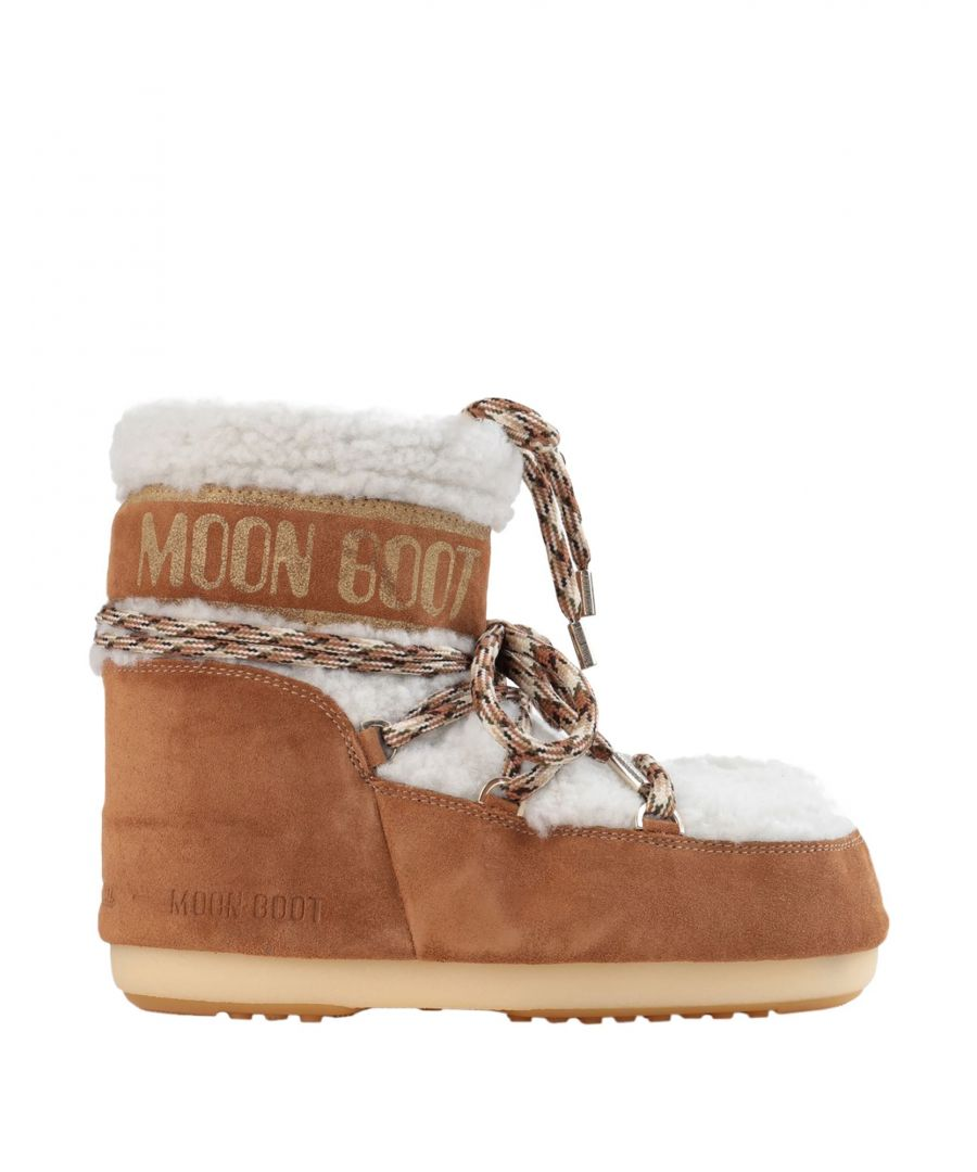 Image for Moon Boot Camel Sheepskin Boots