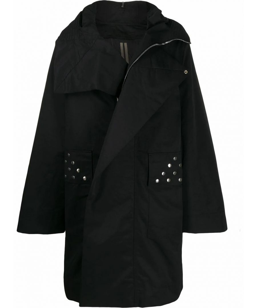 Image for DRKSHDW BY RICK OWENS MEN'S DU19F6966MUES109 BLACK POLYAMIDE OUTERWEAR JACKET