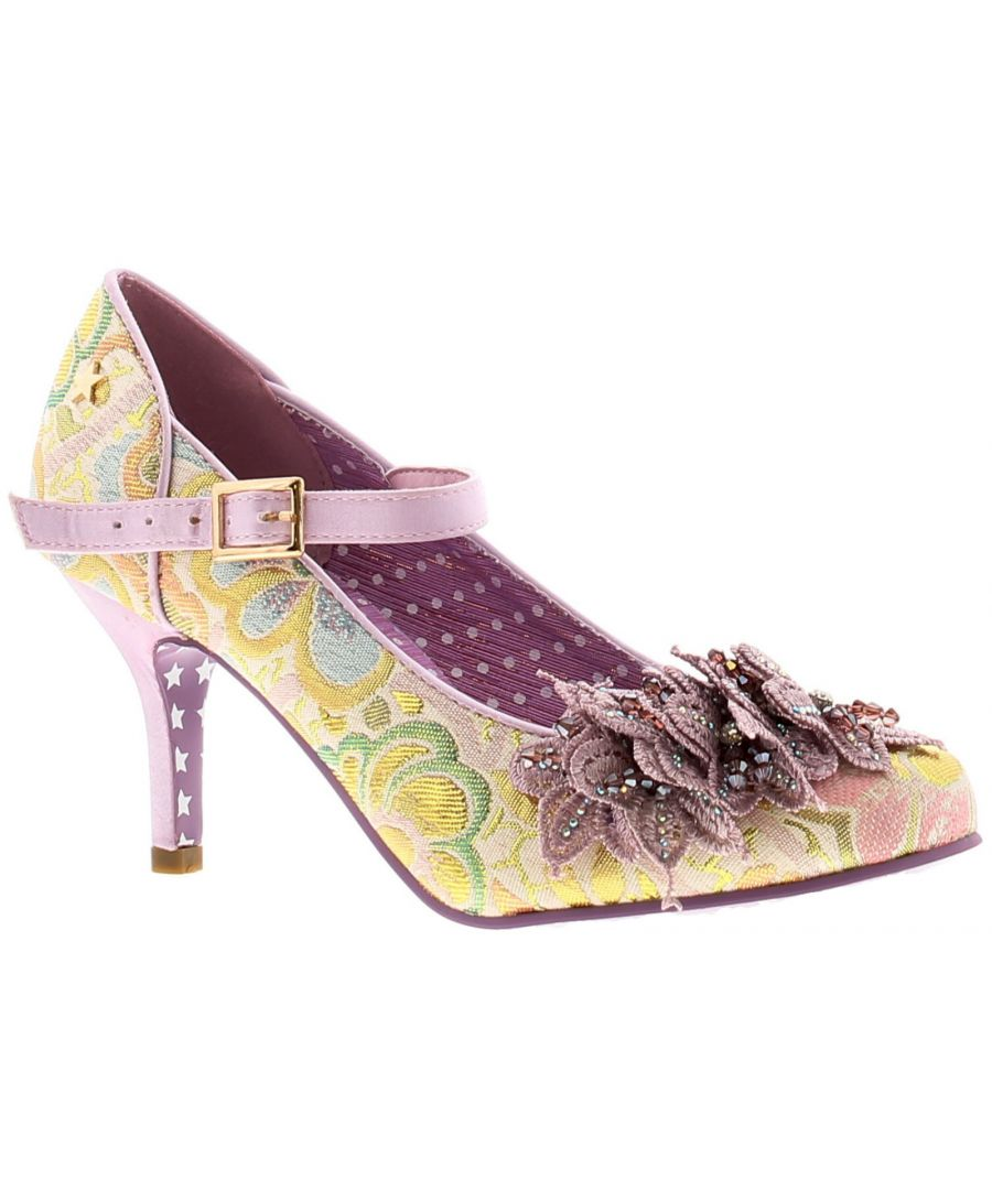 Image for Joe Browns Couture ginnie womens ladies heels court shoes purple