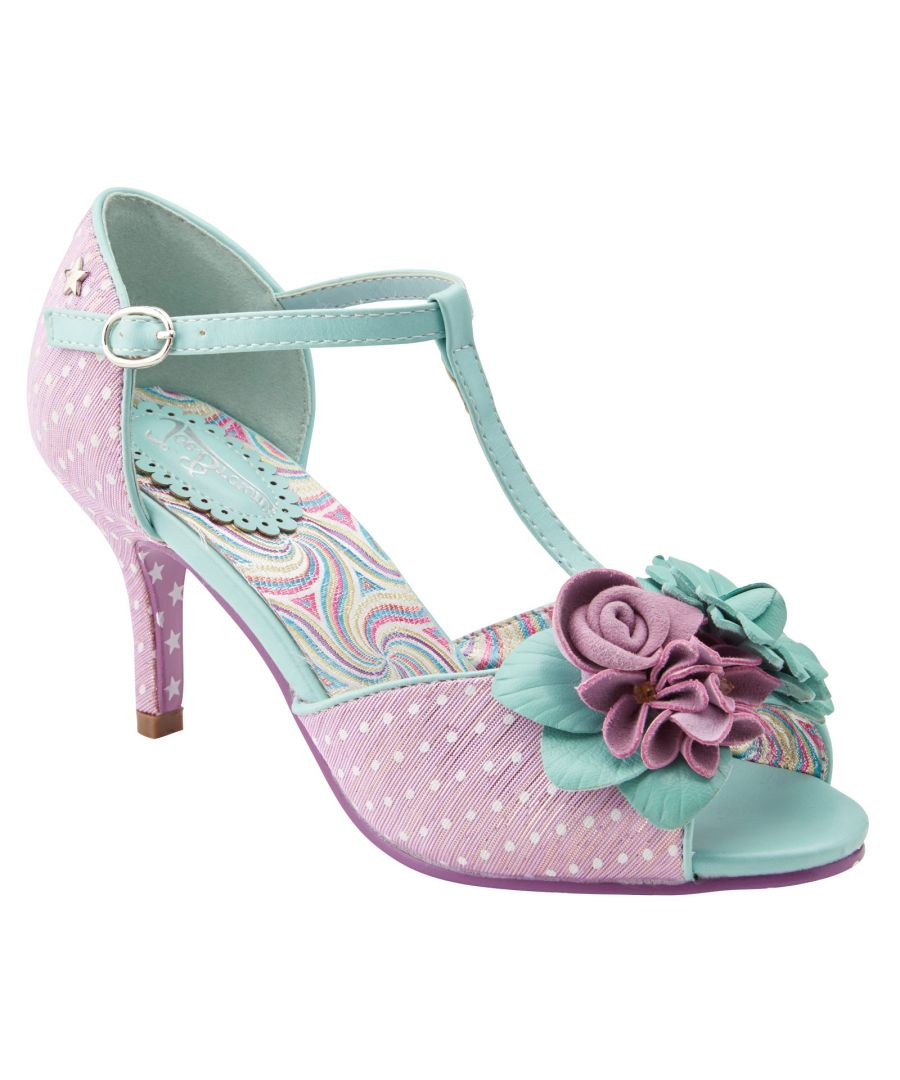 Image for Joe Browns Couture All Things Nice Womens Occasion Shoes Lilac/Mint