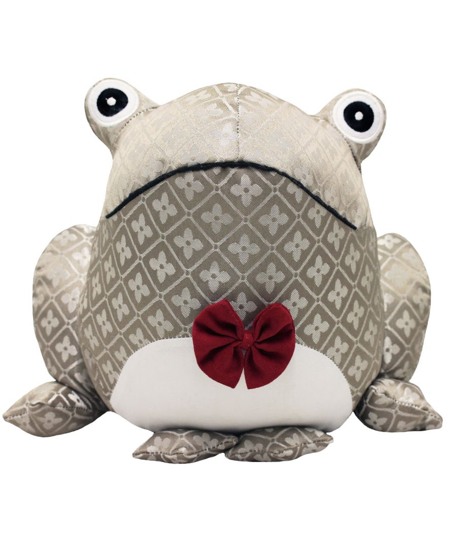 Image for Jacquard Frog Doorstop, Multi
