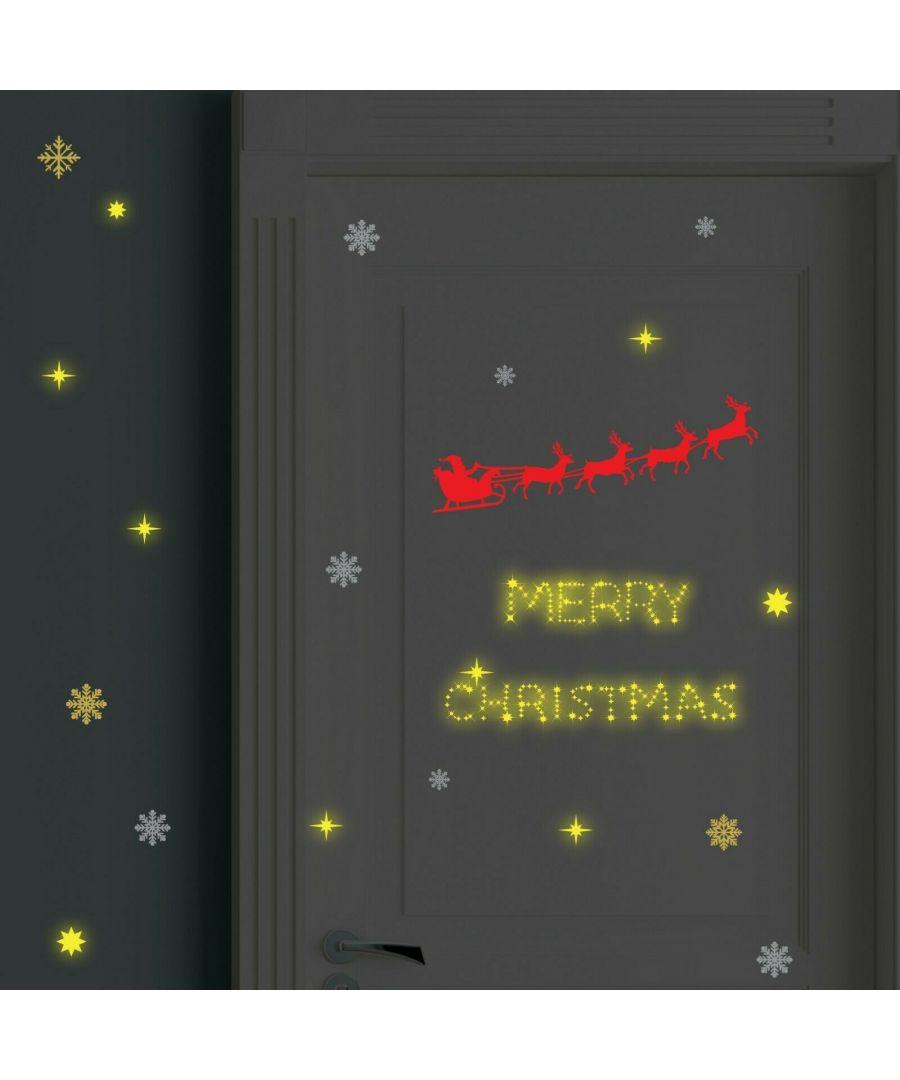 Image for COM- WS3323 - Santa's Sleigh + WS3036 - Moon & Stars Glow
