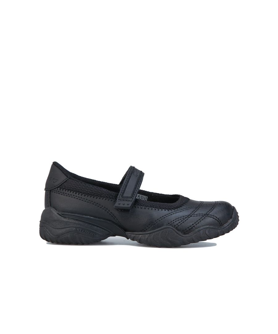 Image for Girls' Skechers Children Velocity Pouty Shoes in Black